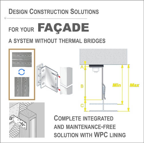 Construction design façade solutions